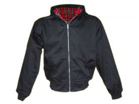 Harrington Jacke mit Kapuze von Knightsbridge London