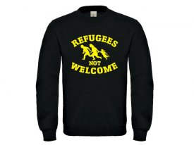 Pullover - Refugees not Welcome