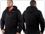 Ansgar Aryan Winterjacke Black Cross