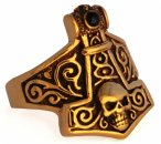 Ring Thorun Thors Hammer Bronze